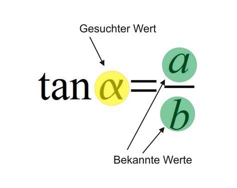 tangens berechnen matheretter sinus kosinus tangens