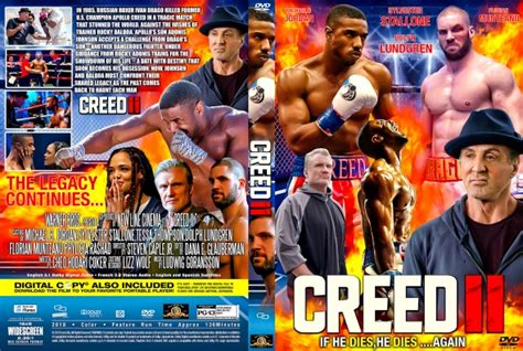 creed ii dvd covers labels  covercity