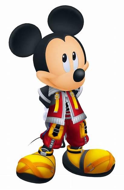 Mickey Hearts Kingdom Mouse King Clipart Ii