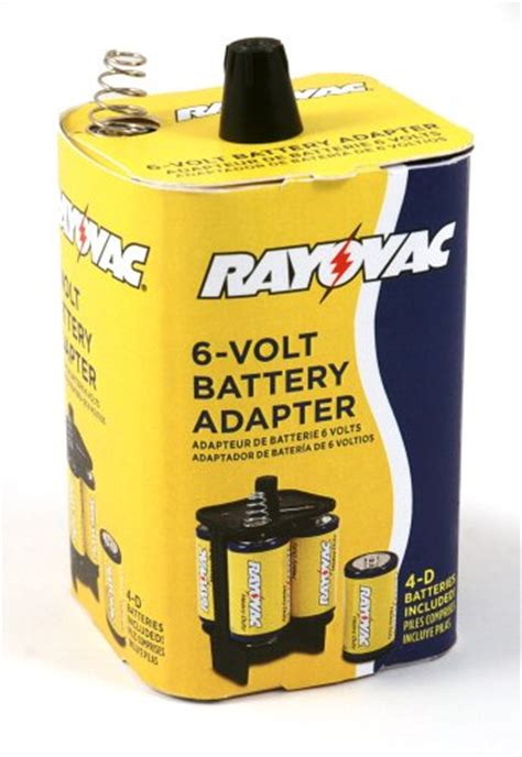 review rayovac 6vadpt b 6 volt battery adapter with batterie