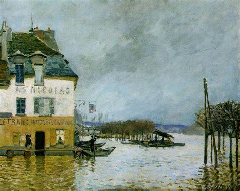 clinique de l europe port marly alfred sisley 1839 1899 el impresionismo y sus