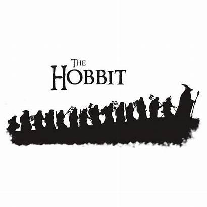 Hobbit Tattoo Silhouette Again There Lotr Tolkien