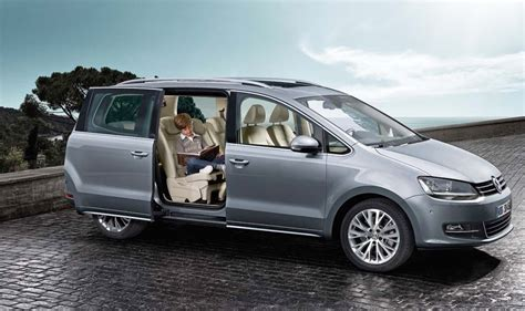 2017 VW Sharan Facelift, Family Car   carsautodrive