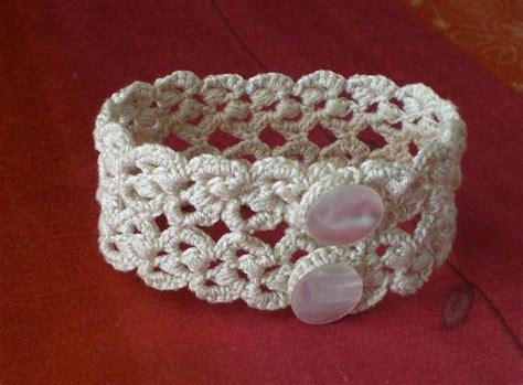 bracelets au crochet pour l 233 t 233 les cr 233 ations de catherine