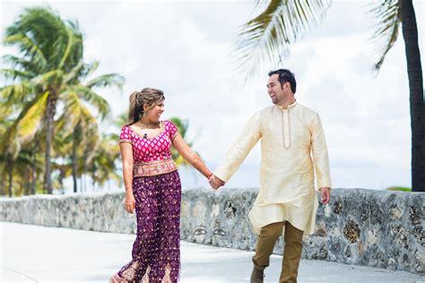 Radhika And Vakresvara's Miami Beach Engagement