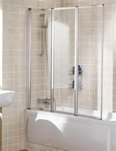 Shower Door Guard lakes classic triple panel silver framed bath screen