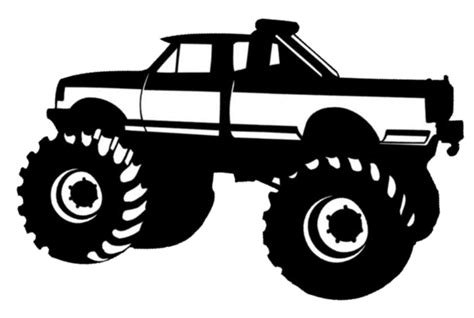 toddler four wheeler truck cut free images at clker com vector clip
