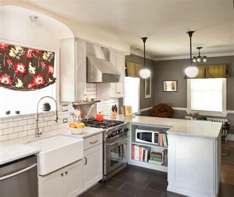 bungalow kitchen renovation craftsman kitchen