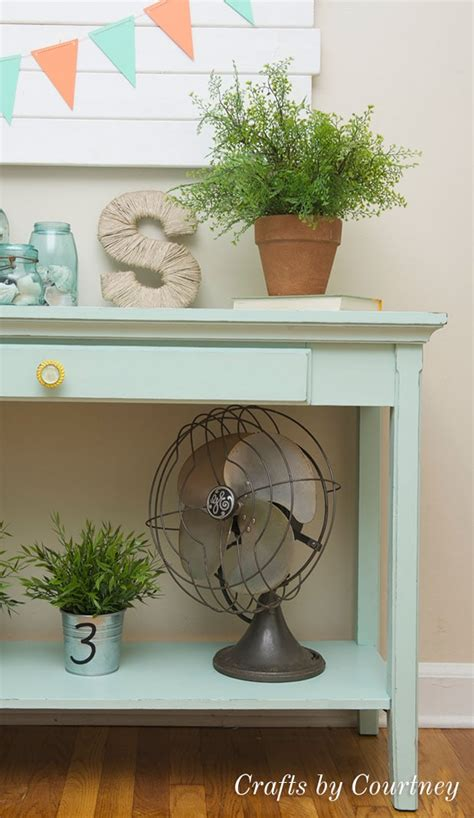 diy sofa table makeover chalk paint   rescue