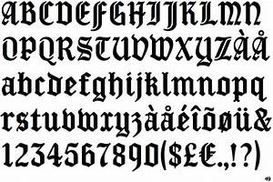 Identifont - New Old English
