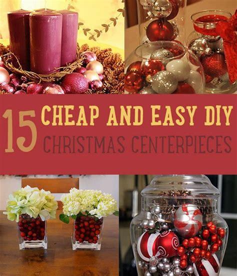 easy christmas centerpiece ideas diy christmas