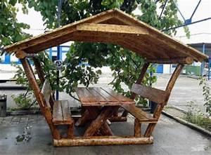 Pavillon Für Garten : casa padrino garten pavillon rustikal mit tisch und 2 ~ A.2002-acura-tl-radio.info Haus und Dekorationen