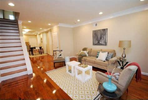brazilian cherry hardwood floors transitional living