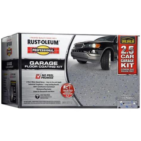 Rustoleum Garage Floor Coating Kit Colors by Rust Oleum Garage Floor Kit Professional 2 5 Car Garage