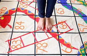 Giant Outdoor Snakes and Ladders Game The Craftables