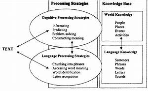 A Hypothetical Model Of The Reading Process With Some Sample Processing