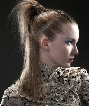 thight high pony hairstyle  long hair collection