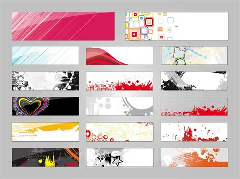 Banners Designs Vector Art & Graphics Freevectorcom