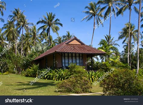 island house tropical house on island koh stock photo 109478945 Tropical