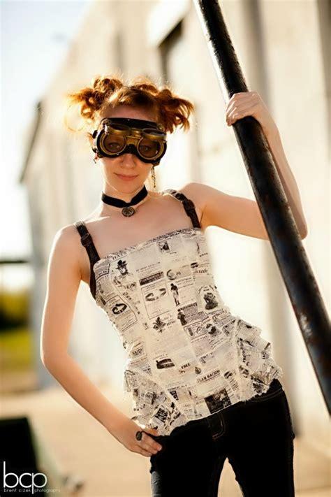 steampunk hair alternative fashion wiki fandom powered