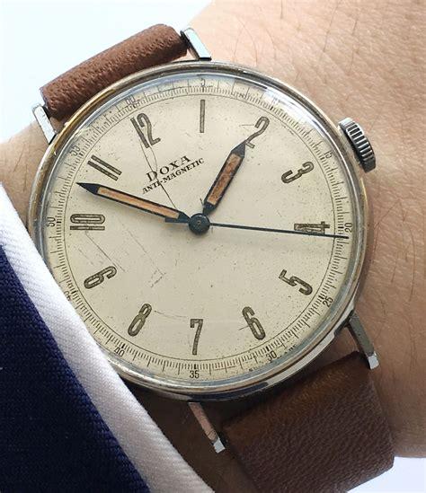 amazing vintage military doxa scientifc dial mm