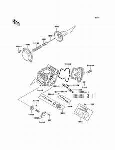 29 Kawasaki Prairie 360 Carburetor Diagram