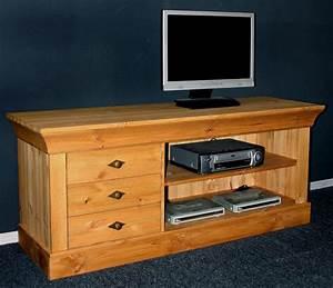 massivholz tv lowboard tv m bel tv kommode bergen kiefer massiv gelaugt
