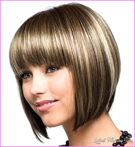 cute short haircuts for round faces latestfashiontips com