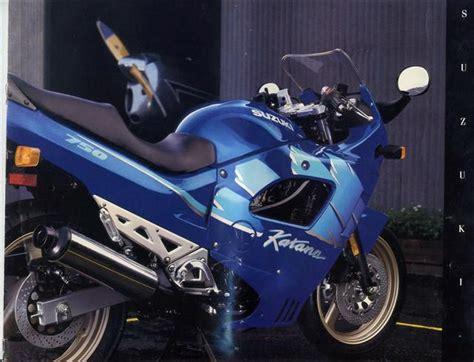 93 Suzuki Katana by Suzuki Gsx750f Brochures