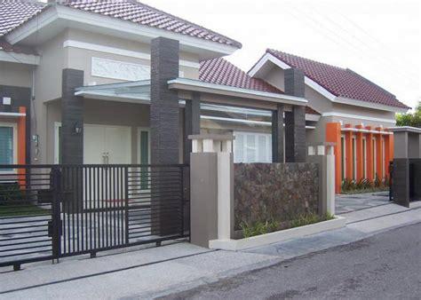 eksterior rumah minimalis  lantai gambar om
