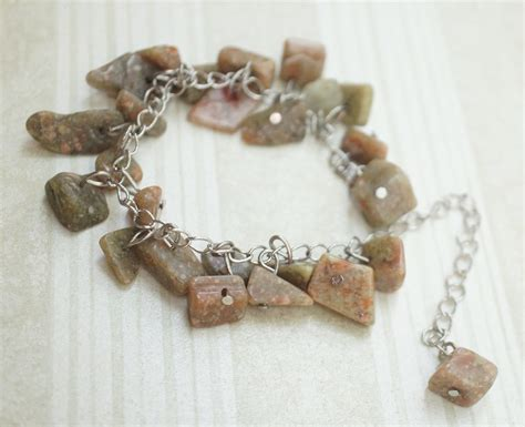 images chain stone natural bead jewelry