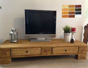 Tv Schrank Mit Rückwand : palettenm bel europalette tv lowboard tv schrank mit 2 schubladen ebay sweet home ~ Bigdaddyawards.com Haus und Dekorationen