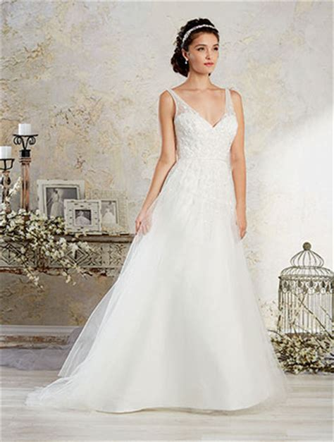 dress modern vintage  alfred angelo  collection