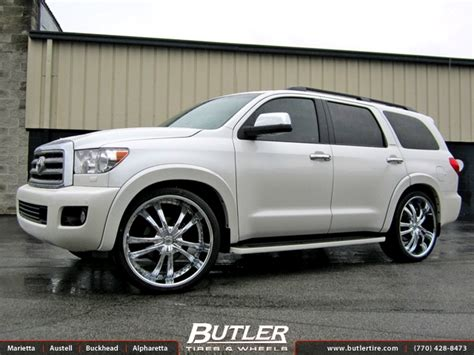jeep wheels and tires packages toyota sequoia with 26in lexani lss55 wheels exclusively