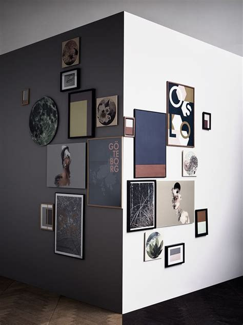 modern photo gallery wall ideas shelterness