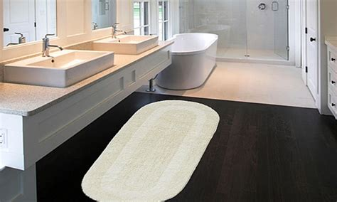 extra large  double vanity reversible cotton bath