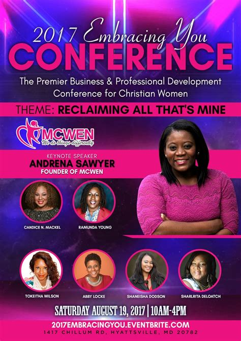 embracing  womens conference  premier