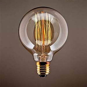Große Glühbirne Als Lampe : purelume edison squirrel lampadina vintage e27 40 w 240v per lampade in stile antico ~ Eleganceandgraceweddings.com Haus und Dekorationen