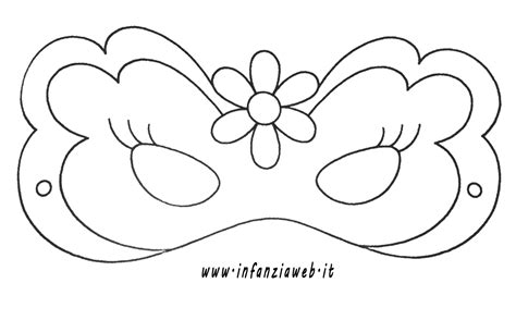 disegni da colorare da stare disegni di maschere di carnevale da stare e colorare