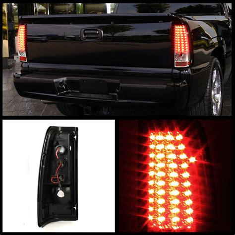04 silverado tail lights 03 06 chevy silverado gmc sierra performance full led