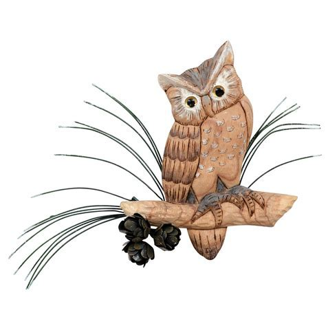 Owl Wisdom Wall Art