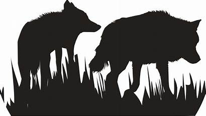 Silhouette Wolf Wild Clipart Wolves False Prophets
