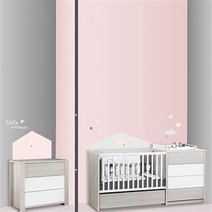 Sticker Chambre Bebe : stickers chambre b b home lilibelle de sauthon baby deco ~ Melissatoandfro.com Idées de Décoration
