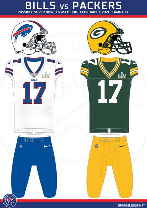 What Uniforms Will We See In Super Bowl Lv Sportslogos