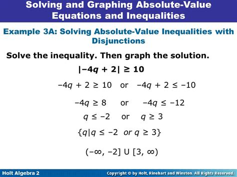 Solving And Graphing Absolutevalue Equations And Inequalities 28,9  Ppt Video Online Download