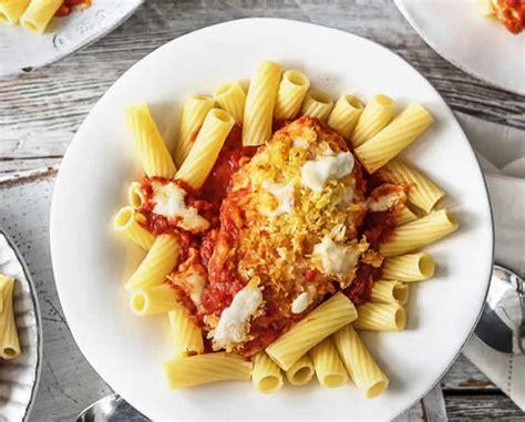 pates aux chignons et poulet poulet aux p 226 tes tomate et parmesan un plat d 233 licieux pour d 238 ner