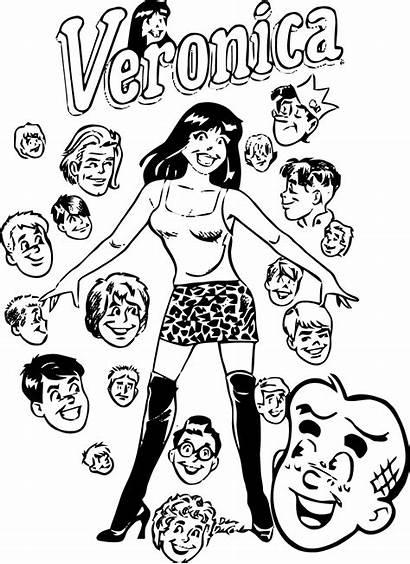 Coloring Archie Veronica Betty Comics Disegni Colorare
