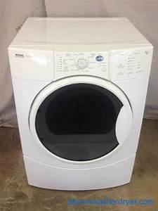 Large Images For Kenmore Elite Front-load Dryer