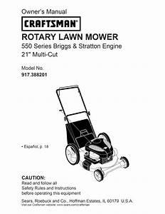 Craftsman 917 388201 User Manual