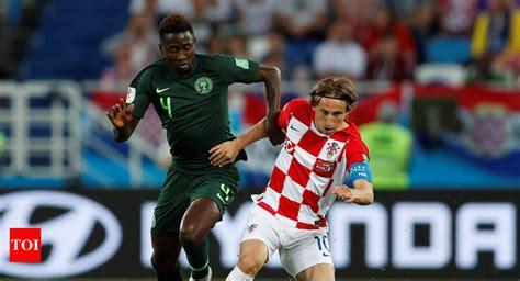 Fifa World Cup Croatia Beat Nigeria Football